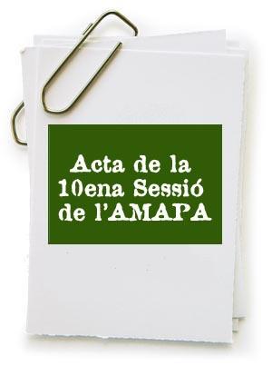 acta 10 sessió