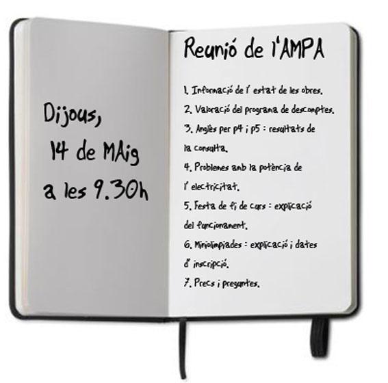 Reunió AMPA