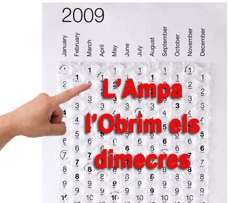 Horari AMPA
