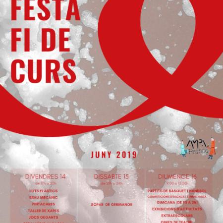 Programa Festa fi de curs 2019